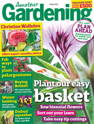 Amateur Gardening 14th May 2016