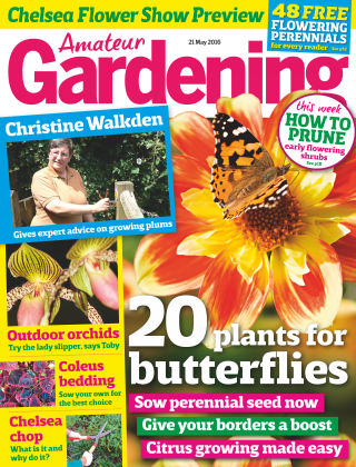 Amateur Gardening 21st May 2016