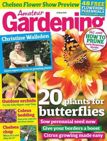 Amateur Gardening May 17, 2016 00:00