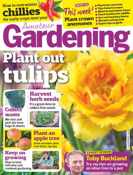 Amateur Gardening November 01, 2016 00:00