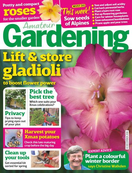 Amateur Gardening December 06, 2016 00:00