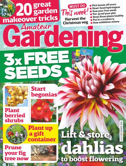 Amateur Gardening December 20, 2016 00:00