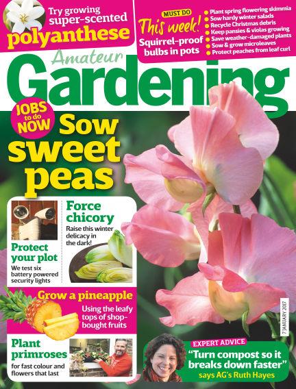Amateur Gardening January 03, 2017 00:00