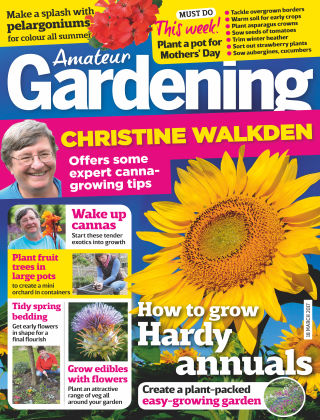 Amateur Gardening 18th March 2017