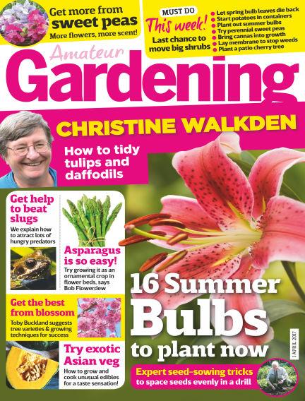 Amateur Gardening March 28, 2017 00:00
