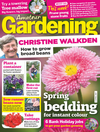 Amateur Gardening 15th April 2017
