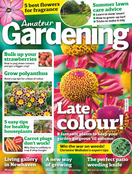 Amateur Gardening July 11, 2017 00:00
