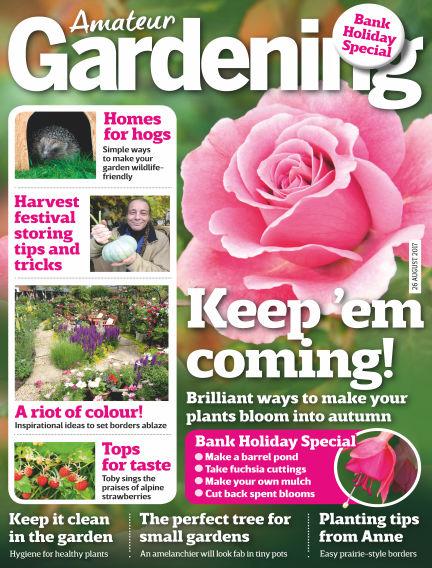 Amateur Gardening August 22, 2017 00:00