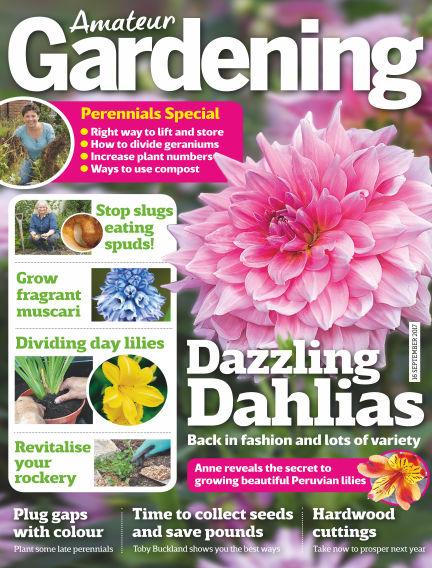 Amateur Gardening September 12, 2017 00:00