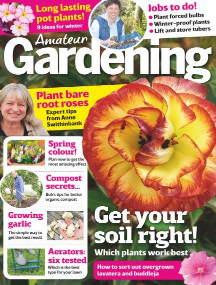 Amateur Gardening October 17, 2017 00:00