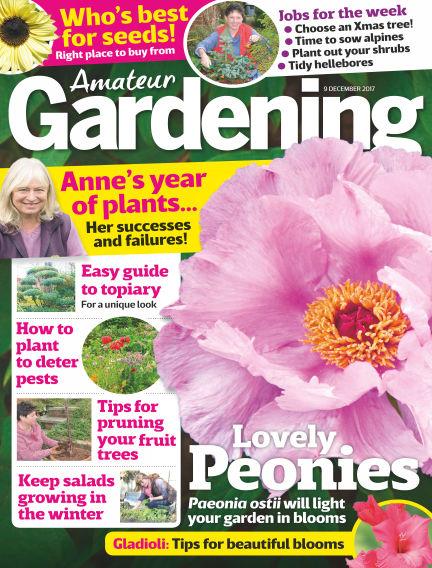 Amateur Gardening December 05, 2017 00:00