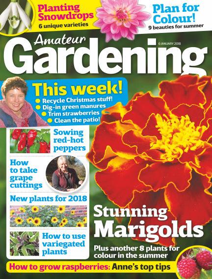 Amateur Gardening January 02, 2018 00:00
