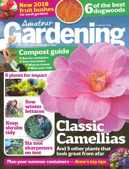Amateur Gardening January 23, 2018 00:00