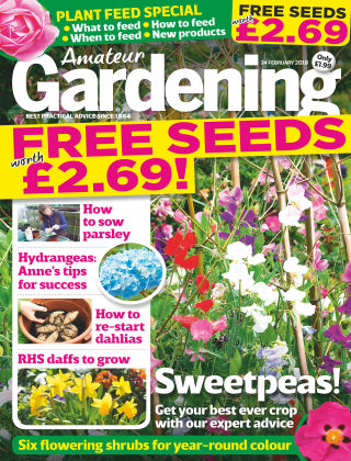 Amateur Gardening 24th February 2018