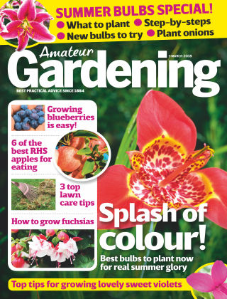 Amateur Gardening 3rd March 2018