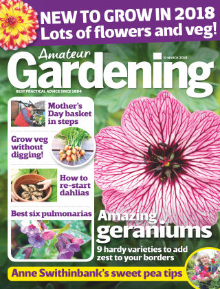 Amateur Gardening 10th March 2018