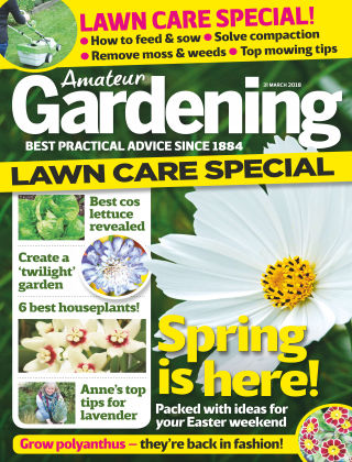 Amateur Gardening 3rd April 2018