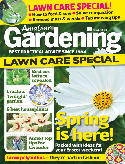 Amateur Gardening March 27, 2018 00:00