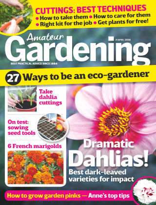 Amateur Gardening 21st April 2018