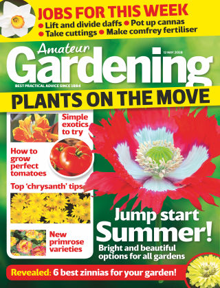 Amateur Gardening 12th May 2018