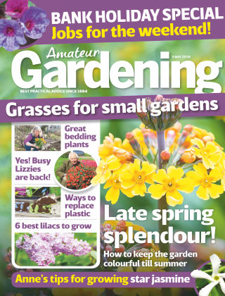 Amateur Gardening 5th May 2018