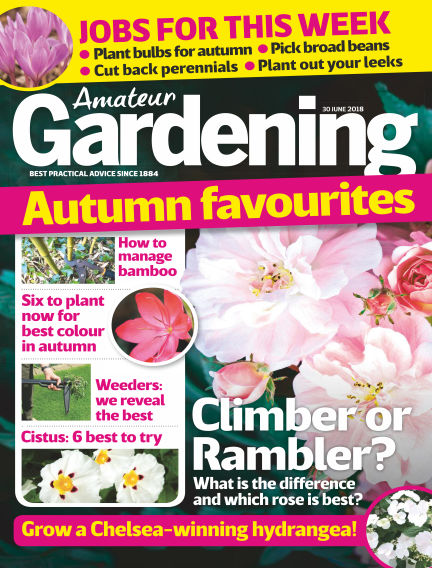 Amateur Gardening June 26, 2018 00:00