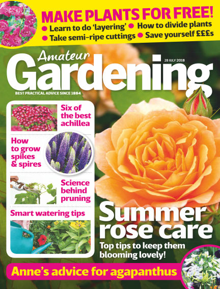Amateur Gardening July 24, 2018 00:00