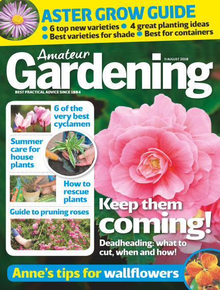 Amateur Gardening August 07, 2018 00:00