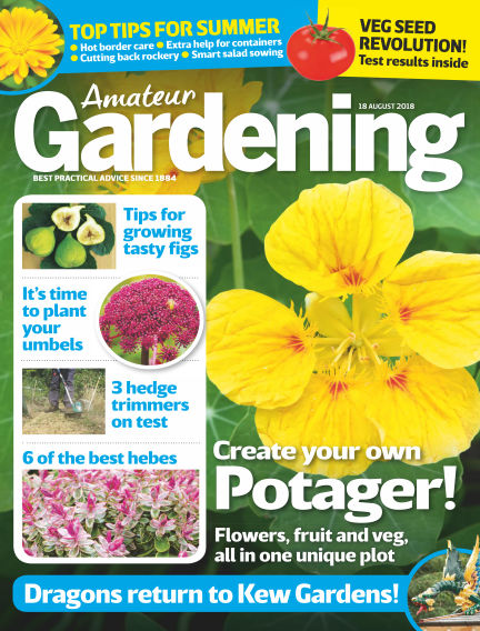 Amateur Gardening August 14, 2018 00:00