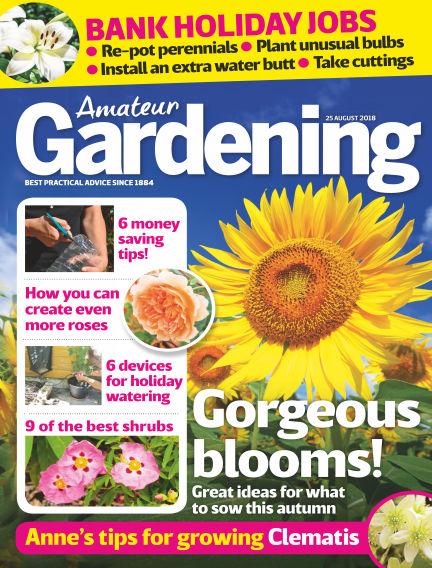 Amateur Gardening August 21, 2018 00:00
