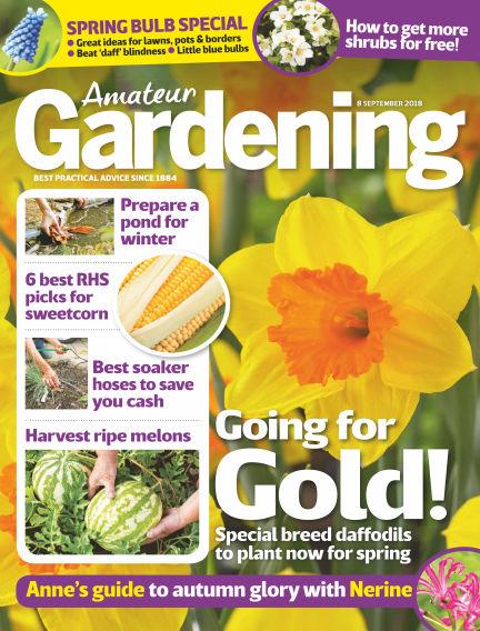 Amateur Gardening September 04, 2018 00:00