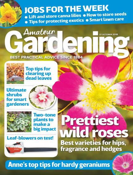 Amateur Gardening October 23, 2018 00:00
