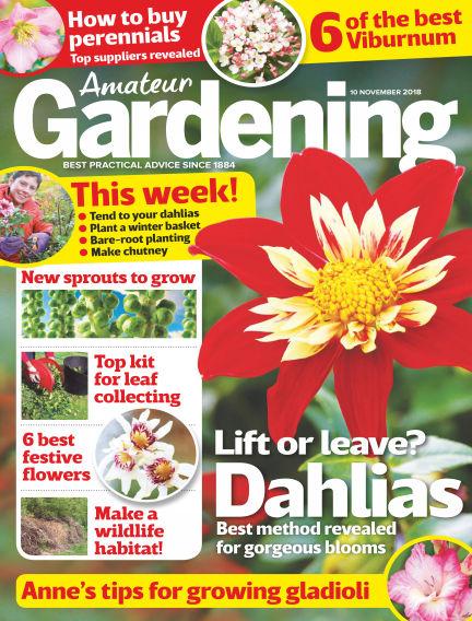 Amateur Gardening November 06, 2018 00:00