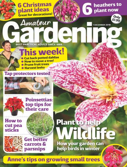 Amateur Gardening November 27, 2018 00:00