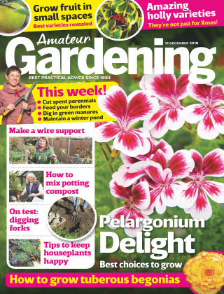 Amateur Gardening Dec 15 2018