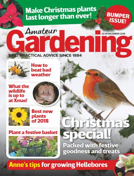 Amateur Gardening December 18, 2018 00:00
