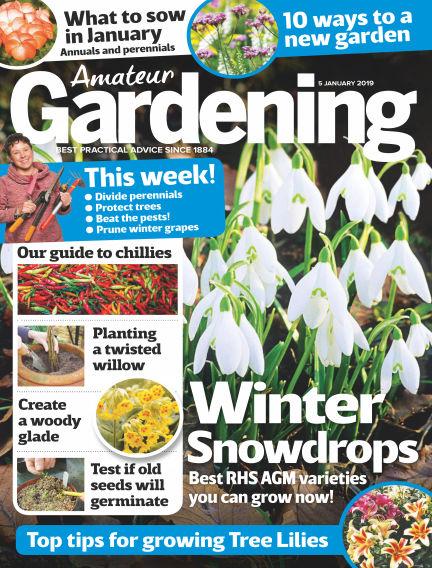 Amateur Gardening January 02, 2019 00:00