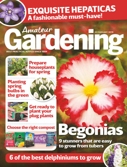 Amateur Gardening February 19, 2019 00:00
