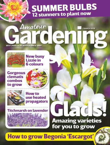 Amateur Gardening February 26, 2019 00:00