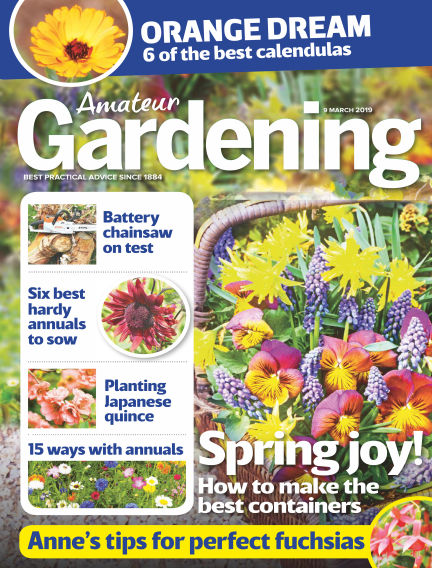 Amateur Gardening March 05, 2019 00:00