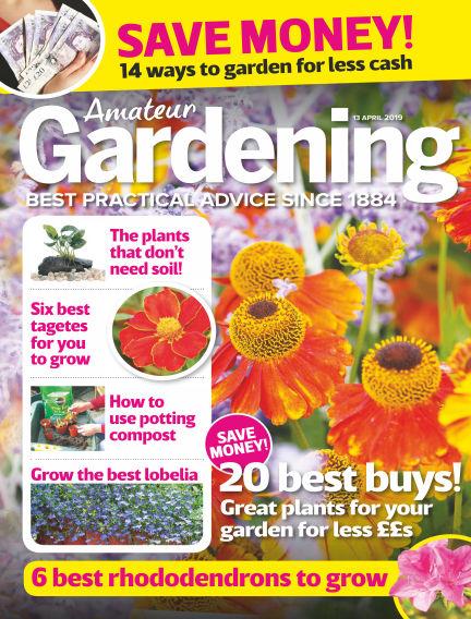 Amateur Gardening April 09, 2019 00:00