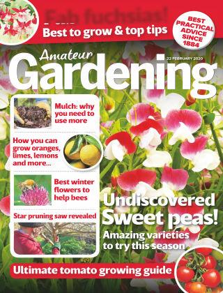 Amateur Gardening Feb 22 2020