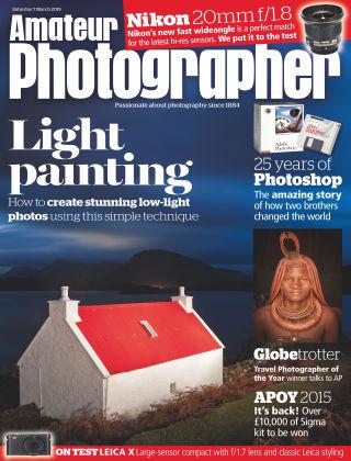 Amateur Photographer 7th March 2015