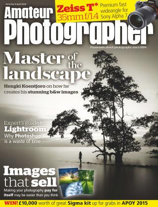 Amateur Photographer 4th April 2015