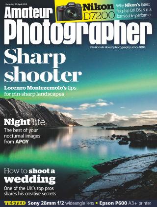 Amateur Photographer 25th April 2015