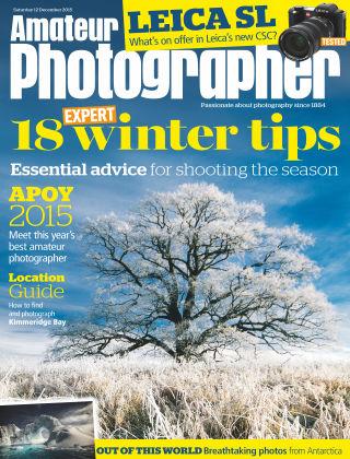 Amateur Photographer 12th December 2015