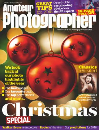 Amateur Photographer 19th December 2015