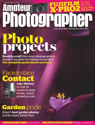 Amateur Photographer 13th February 2016