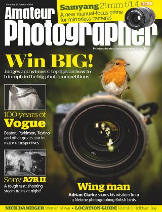 Amateur Photographer 20th February 2016