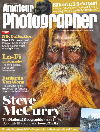 Amateur Photographer 14th May 2016